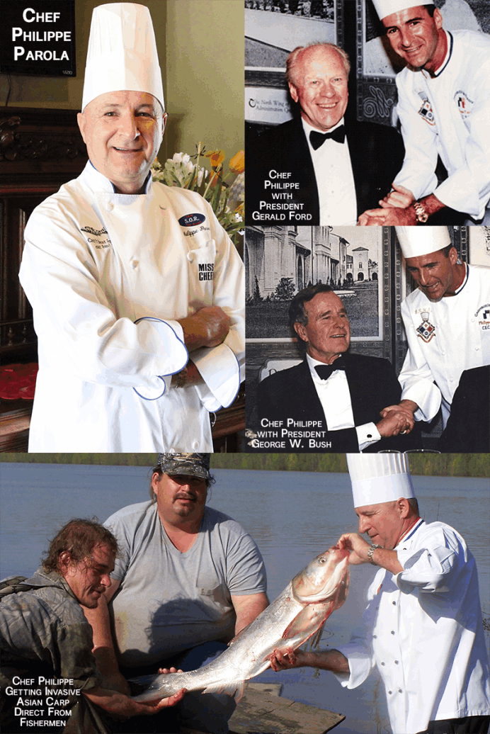 Chef Philippe Parola | Presidents Gerald Ford and George W. Bush